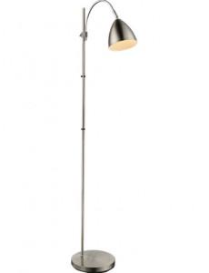 Lampadar crom nichel mat, 1 bec, dulie E14, Globo 24857S
