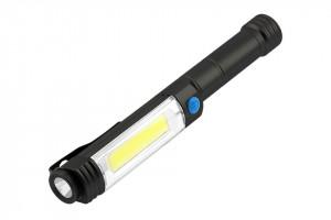 Lanterna LED 6W, 400 lm, 3 moduri de iluminare, lumina rece(6400 K), IP44, alimentare cu 3 baterii AA(neincluse) GTV