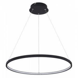 Pendul LED 29W, dimabil, lumina calda, metal, culoare negru, 67192-29B Globo