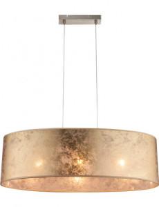 Pendul metalic, auriu, 3 becuri, dulie E27, Globo 15187H2