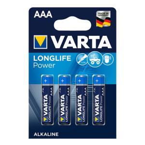 Set 4 baterii R3 AAA Alkaline, Varta High Energy
