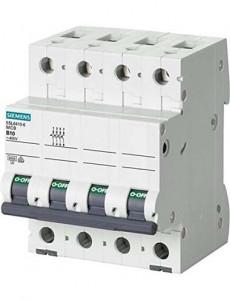 Siguranta automata 3P+N, 20A, curba de declansare C, capacitate de rupere 6kA, Siemens