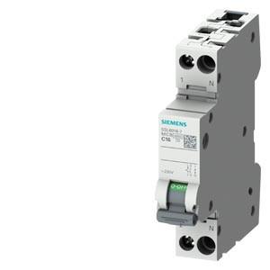 Siguranta automata P+N, 10A, curba de declansare C, capacitate de rupere 6kA, Siemens