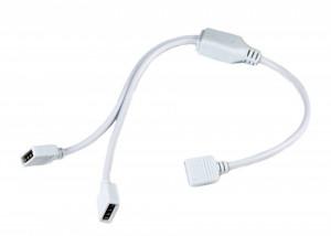 Splitter led RGB 1 intrare- 2 iesiri, cablu 30 cm
