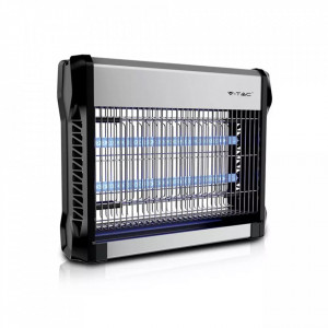 Aparat UV anti-insecte electronic, 16W, 50 mp, negru-gri, V-TAC