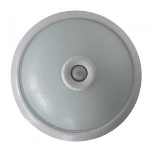 Aplica LED cu senzor de miscare, 18W, lumina rece