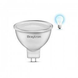 Bec led 5W MR16 120grade 220V, Braytron, lumina rece