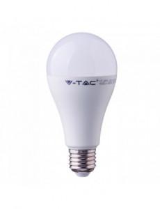 Bec led E27, 15W(90W), lumina alba naturala, 4000K, 1350 lm, A+, V-TAC