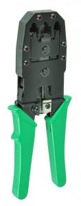 Cleste sertizat universal, pentru mufa RJ10, RJ11, RJ12, RJ45, Mentavill