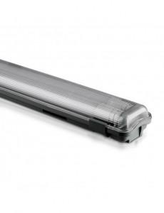 Corp led 2x18W etans IP65, tub inclus, 3400 lumeni, lumina rece, 6400K