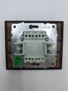 Intrerupator alternativ, 10A, IP20, Ovivo Grano, nuc