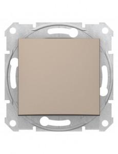 Intrerupator simplu, 10A, IP20, Titan, Schneider Sedna