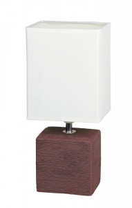 Lampa de birou Orlando wenge/natural, 4928, Rabalux
