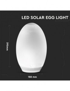 Lampa solara RGBW, senzor crepuscular integrat,