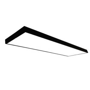 Panou led aplicat 120x30 48W, lumina rece(6400 K) 4400 lm, negru