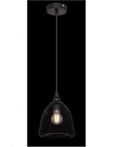Pendul negru mat, dulie E27, Globo 15047H1