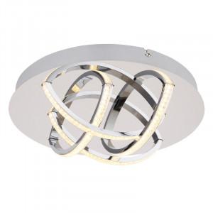 Plafoniera pentru baie LED 15W Keana, protectie IP44, flux luminos 900 lm, crom, 67126-15 Globo
