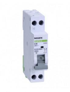 Siguranta automata P+N, 20A, curba de declansare C, capacitate de rupere 4,5kA, Noark
