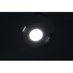 Spot led 3W Rotund 6500K, Incastrat, Panasonic
