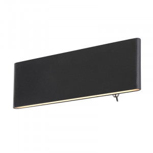Aplica LED Siefried, putere 8W, lumina calda(3000 K), aluminiu negru, 41751W-8 Globo