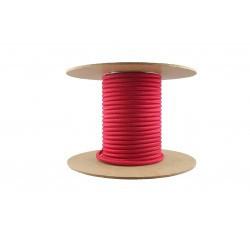 Cablu textil 3x0.75, rosu