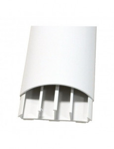 Canal cablu pardoseala 50x12, alb, bara 2 metri