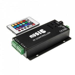 Controller banda led RGB muzical 18A 12V