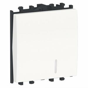 Intrerupator cu led, 2 module, alb, Schneider Easy Styl