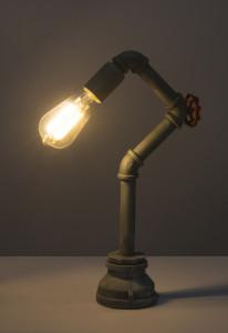 Lampa de birou design industrial, metal, dulie E27(max60W), Globo Lighting