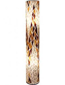 Lampadar din coaja de scoici multicolor, 2 becuri, dulie E27, Globo 25829