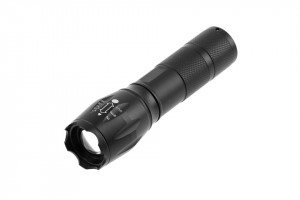 Lanterna LED 5W, 300 lm, functie Zoom si SOS, lumina rece(6400 K), IP44, alimentare cu 3 baterii AAA(neincluse) GTV