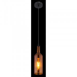 Pendul Levito, portocaliu, dulie E27, 28048HA Globo