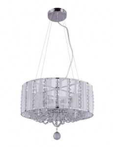 Pendul modern cu cristale, dulie E14, Globo 15091H