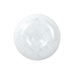 Plafoniera led 22W, rotunda, lumina rece, model decor