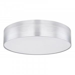 Plafoniera LED cu telecomanda, putere 40W, argintiu, 15365D1 Globo
