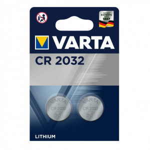 Set 2 baterii CR2032, Varta