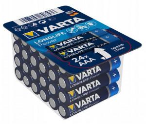 Set 24 baterii R3 AAA Alkaline, Varta High Energy