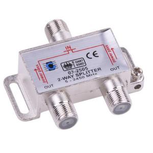 Spllitter TV 2 cai 5-2450 MHz