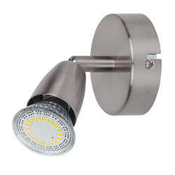 Spot Norman LED satin chrome, 6525, Rabalux