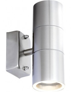 Aplica de exterior otel inoxidabil, 2 becuri, dulie GU10, Globo 3201-2L