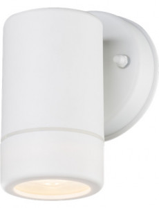 Aplica de exterior otel inoxidabil alb, 1 bec, dulie GU10, Globo 32004-1