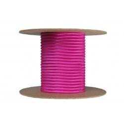 Cablu textil 2x0.75, fuchsia