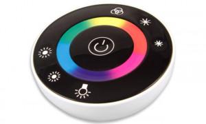 Controller rotund banda led touch RGB 12-24V 18A