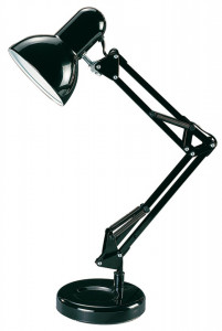 Lampa de birou Samson neagra, 4212, Rabalux