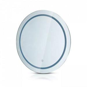 Oglinda LED 6W, diametru 600 mm, functie dezaburire, lumina 3 in 1(cald,neutru sau rece), V-TAC