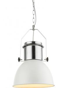 Pendul alb, 1 bec, dulie E27, Globo 15281