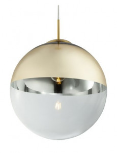 Pendul auriu mat, 1 bec, dulie E27, Globo 15858