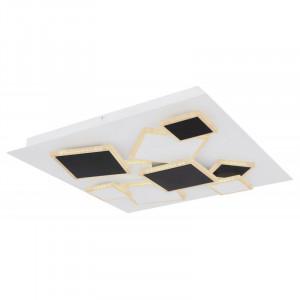 Plafoniera LED cu telecomanda, putere 50W,alb-negru, 48290-50 Globo