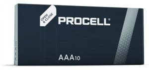 Set 10 baterii R3 AAA Alkaline, Duracell Procell