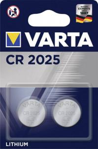 Set 2 baterii CR2025, Varta